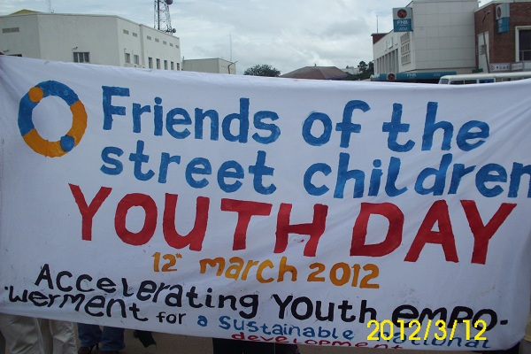 FSC banner on African Youth Day