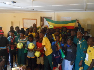 some soccer moments with the boys of Friends of the street Children